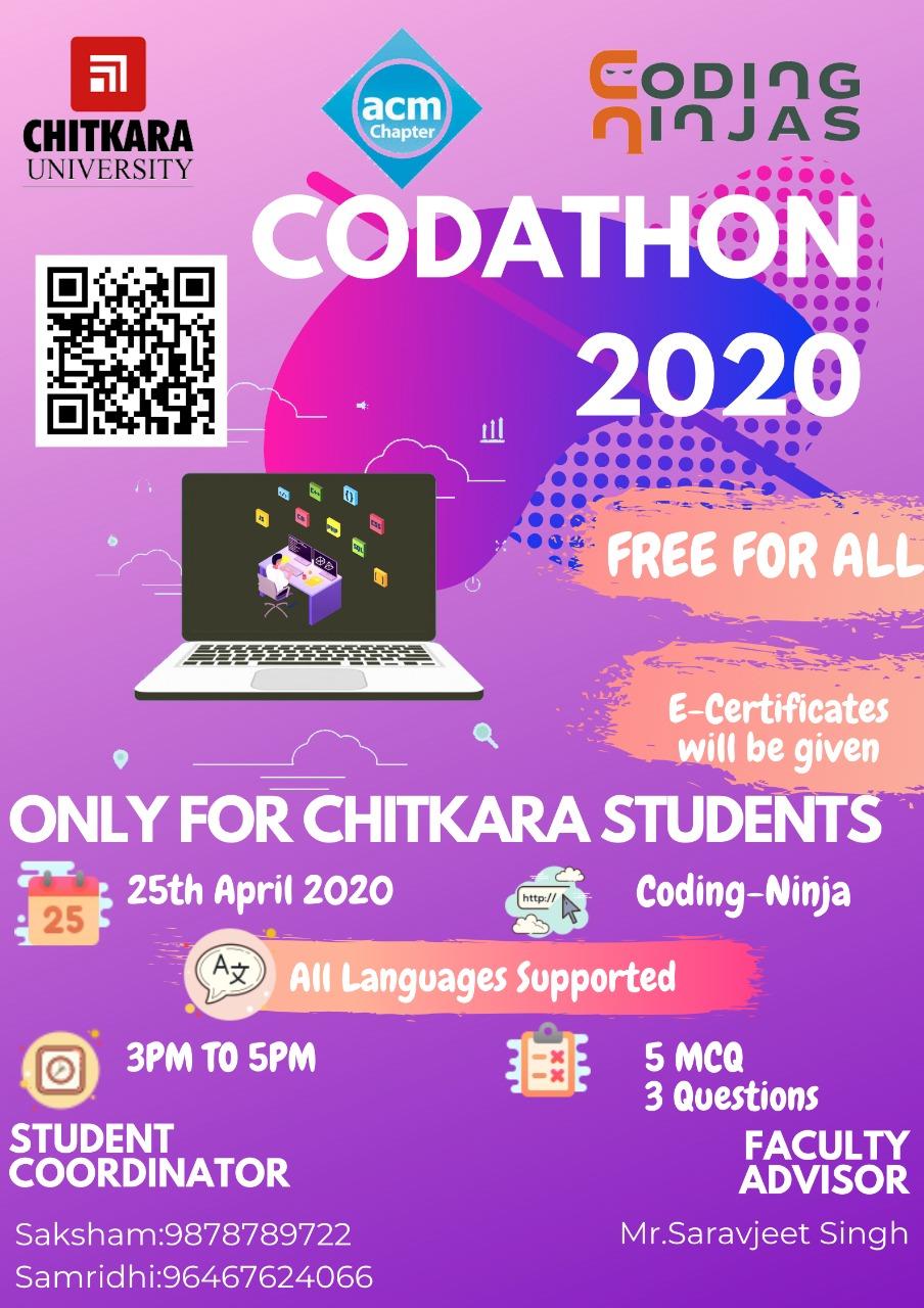 Codathon Poster