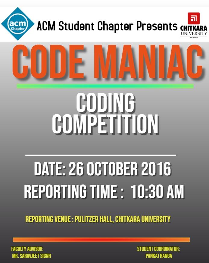 Code Maniac
