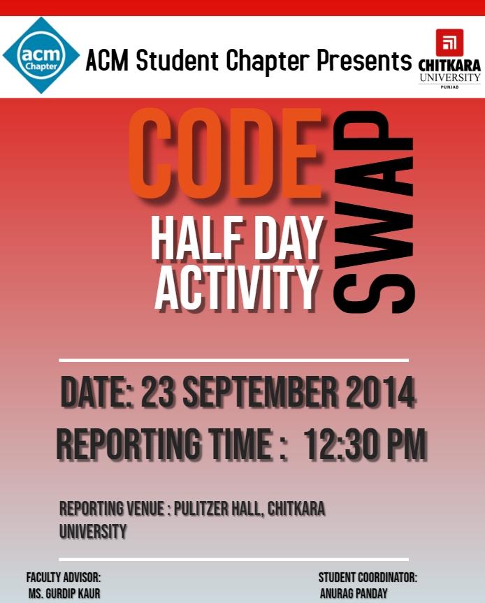 Code Swap Poster