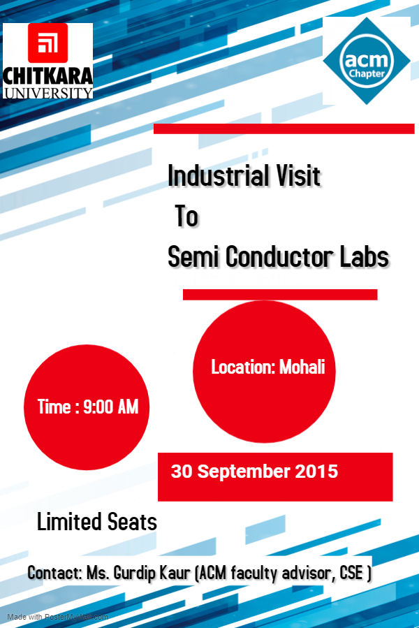 Copy of Industrial Visit Semi Conductor
