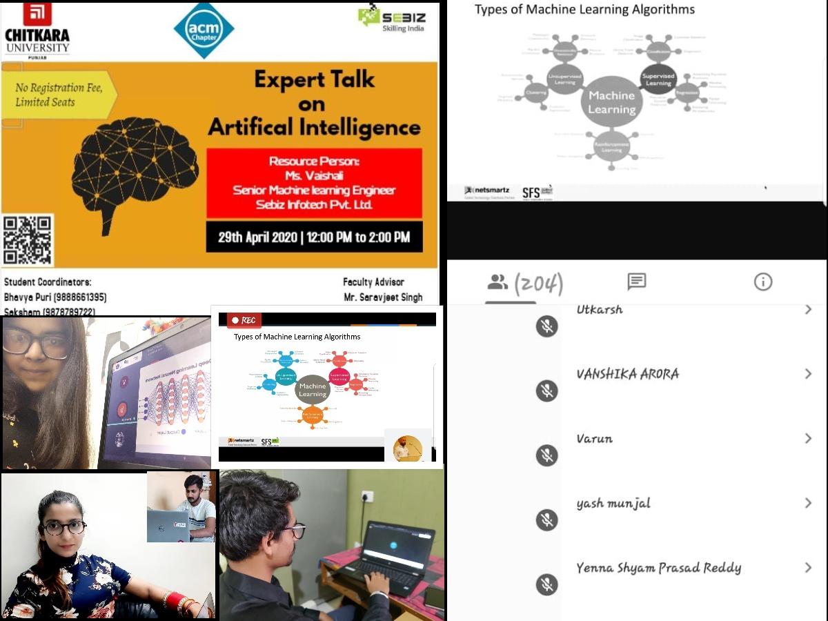 AI Exter talk Collage