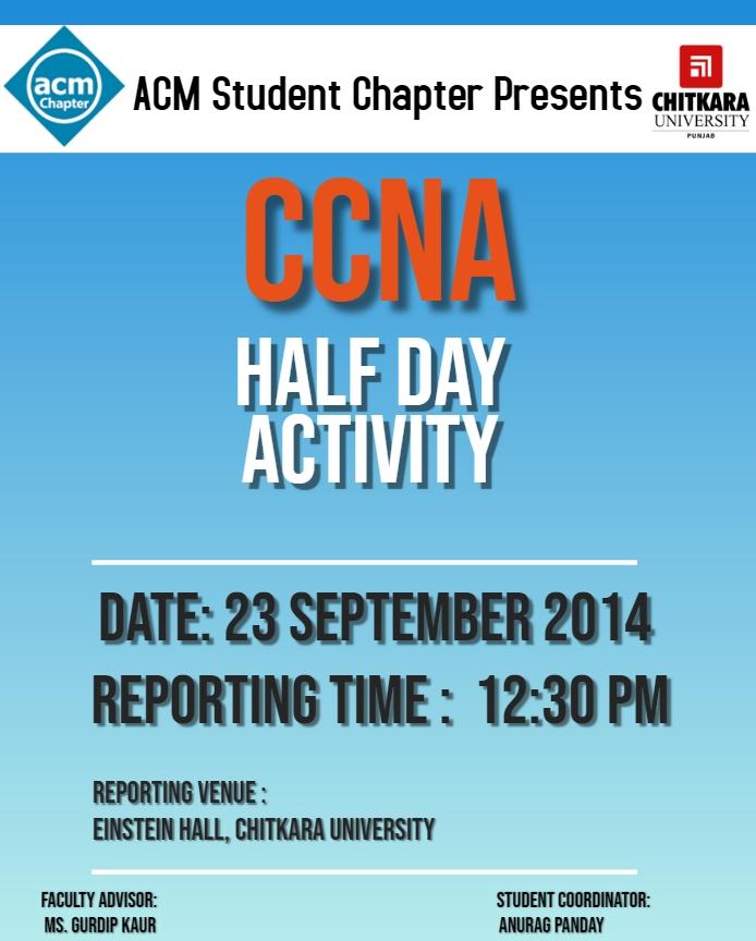 CCNA Poster