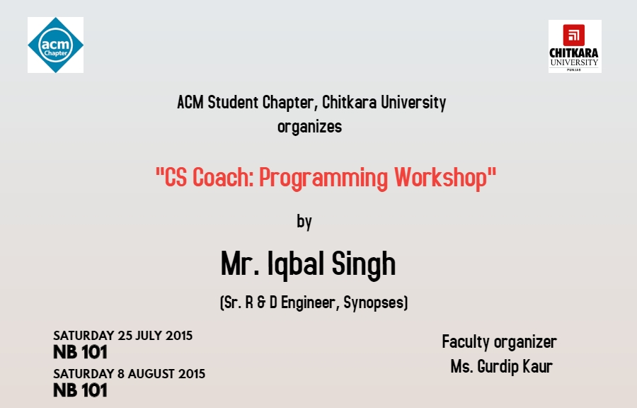CS Coach Poster
