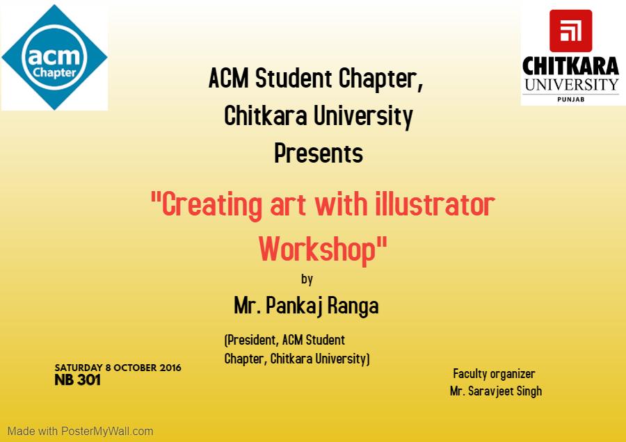 Creating Art poster