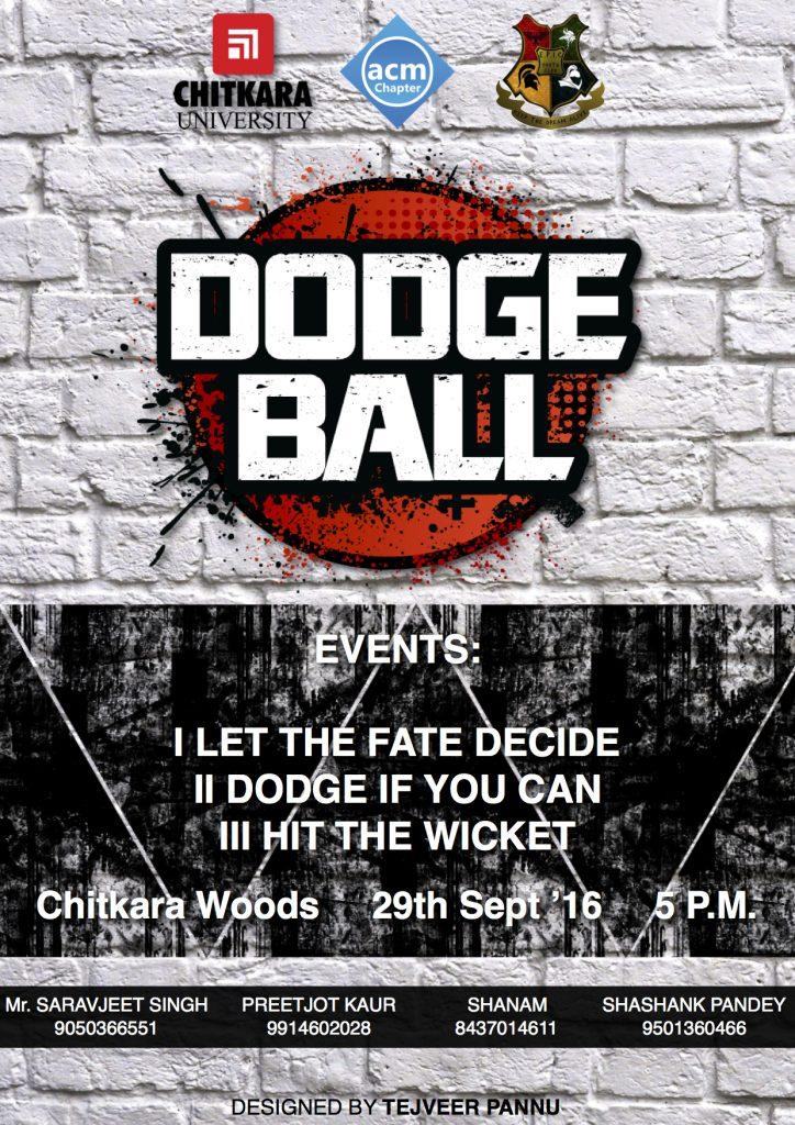 DODGE BALL 2016